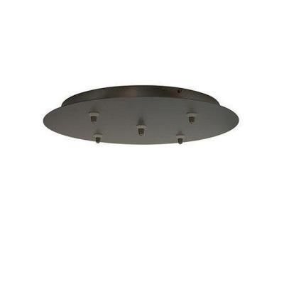 LBL Lighting CK005B-FJ Accessory - Fusion Jack 5-Port Round Canopy