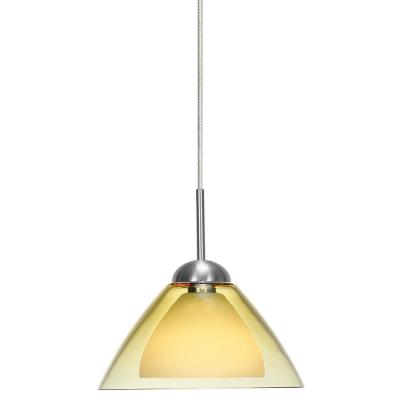 LBL Lighting HS245-MRL Dome-SI Coax - Monorail Low-voltage Pendant