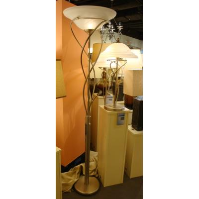 Lite Source LS - 9640 Majesty - One Light Torchiere Floor Lamp