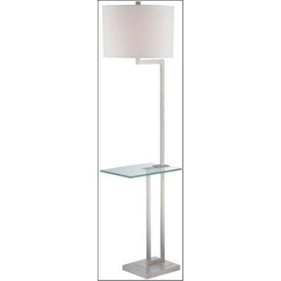 Lite Source LS-81746PS/WHT Rudko - One Light Floor Lamp