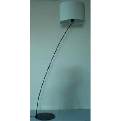 Lite Source LS-82028BLK/WHT One Light Floor Lamp