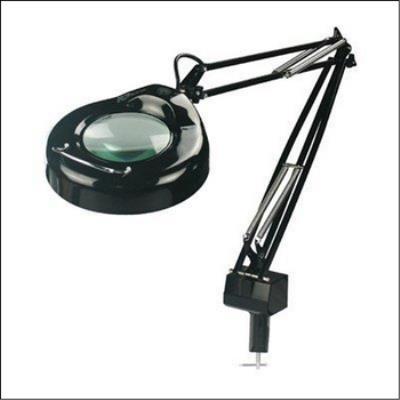 Lite Source LSM-181BLK One Light Magnifier Lamp
