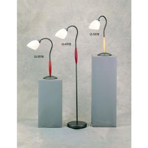 One Light Wood Floor Lamp