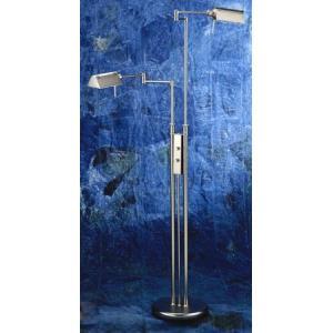 Pharma - Two Light Twin Arm Floor Lamp