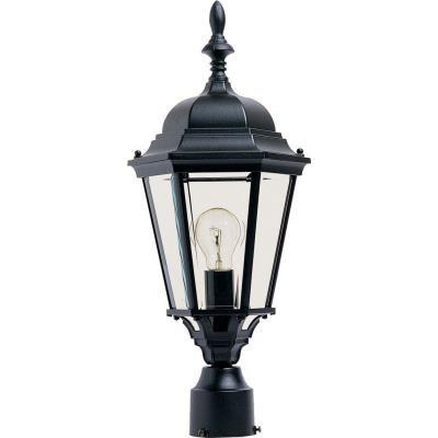 Maxim Lighting 1005BK Westlake - One Light Outdoor Pole/Post Lantern