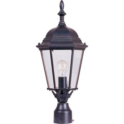 Maxim Lighting 1005EB Westlake - One Light Outdoor Pole/Post Lantern