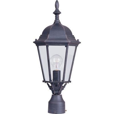 Maxim Lighting 1005RP Westlake - One Light Outdoor Pole/Post Lantern