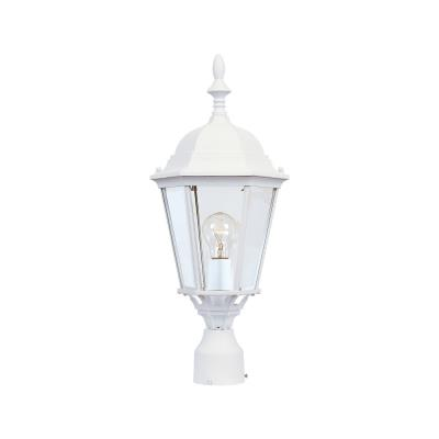 Maxim Lighting 1005WT Westlake - One Light Outdoor Pole/Post Lantern