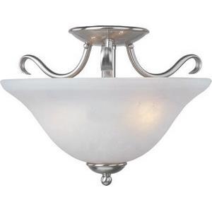 Basix - Two Light Semi-Flush Mount