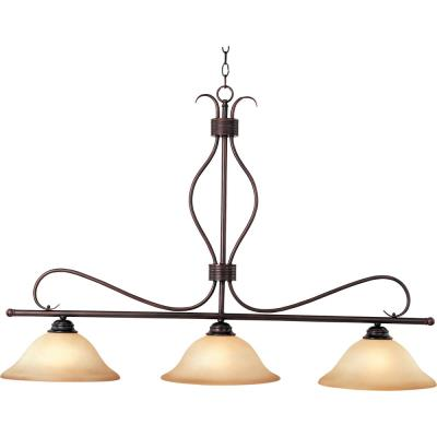 Maxim Lighting 10127WSOI Basix - Three Light Island Pendant