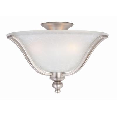 Maxim Lighting 10169ICSS Madera - Three Light Flush Mount