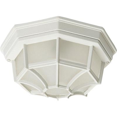 Maxim Lighting 1020WT Crown Hill - Two Light Outdoor Flush Mount