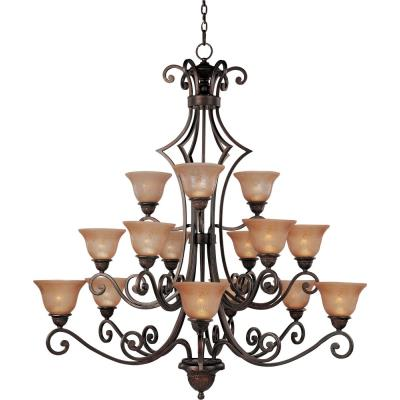 Maxim Lighting 11239 Symphony - Fifteen Light 3-Tier Chandelier