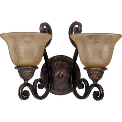Maxim Lighting 11247SAOI Symphony - Two Light Wall Sconce