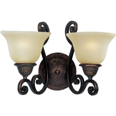Maxim Lighting 11247SVOI Symphony - Two Light Wall Sconce