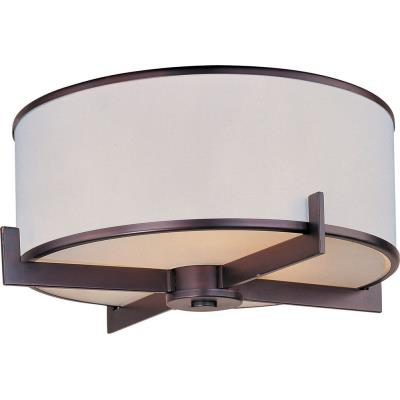 Maxim Lighting 12050WTOI Nexus - Three Light Flush Mount