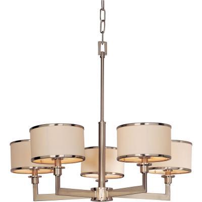 Maxim Lighting 12055WTSN Nexus - Five Light Chandelier