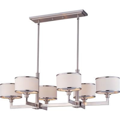 Maxim Lighting 12057WTSN Nexus - Six Light Chandelier