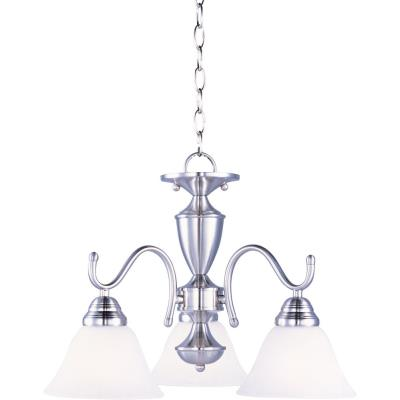Maxim Lighting 12061MRSN Newport - Three Light Chandelier