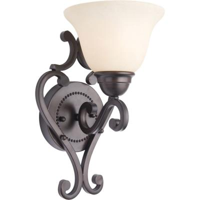 Maxim Lighting 12211FIOI Manor - One Light Wall Sconce