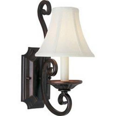 Maxim Lighting 12217OI/SHD123 Manor - One Light Wall Sconce
