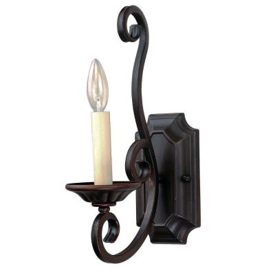 Maxim Lighting 12217 Manor - One Light Wall Sconce