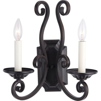 Maxim Lighting 12218 Manor - Two Light Wall Sconce