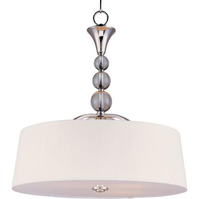 Maxim Lighting 12753WTPN Rondo - Four Light Entry Foyer Pendant