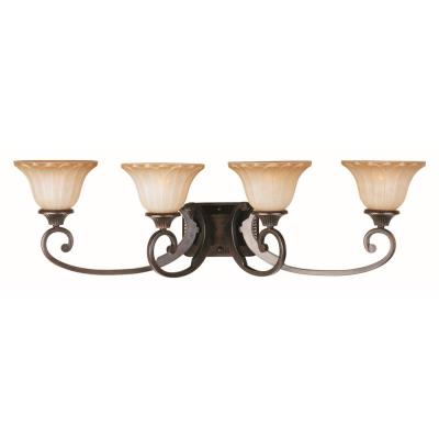 Maxim Lighting 13514WSOI Allentown - Four Light Bath Vanity