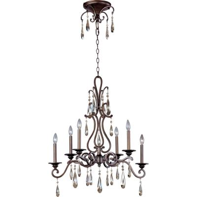 Maxim Lighting 14308HR Chic - Six Light Chandelier