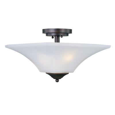 Maxim Lighting 20091 Aurora - Two Light Semi-Flush Mount