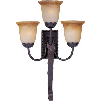 Maxim Lighting 20619VAOI Aspen - Three Light Wall Sconce