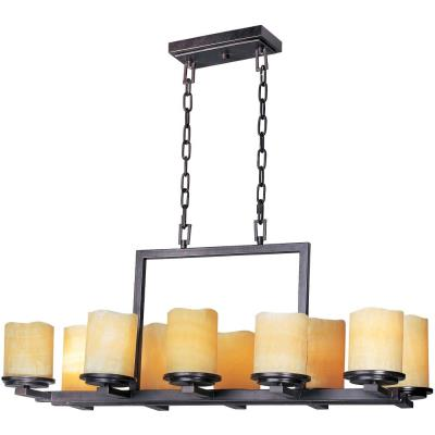 Maxim Lighting 21149SCRE Luminous - Ten Light Chandelier