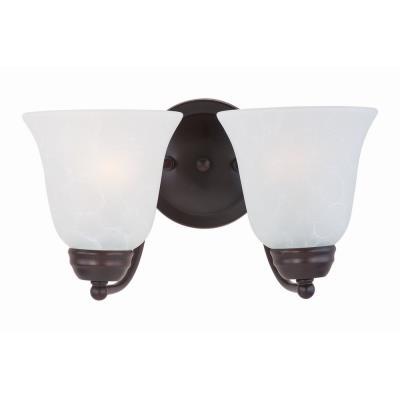 Maxim Lighting 2121I Basix - Two Light Wall Sconce