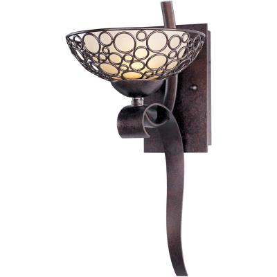 Maxim Lighting 21348DWUB Meridian - One Light Wall Sconce