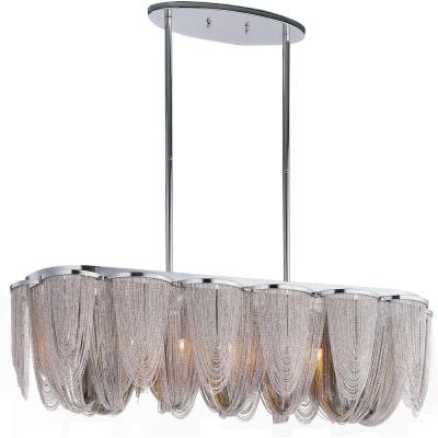 Maxim Lighting 21463NKPN Chantilly - Seven Light Pendant