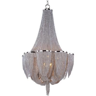 Maxim Lighting 21465NKPN Chantilly - Ten Light Chandelier