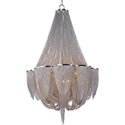 Maxim Lighting 21466NKPN Chantilly - Twelve Light Chandelier