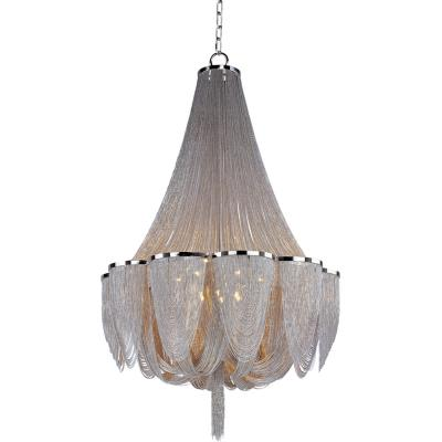 Maxim Lighting 21468NKPN Chantilly - Fourteen Light Chandelier