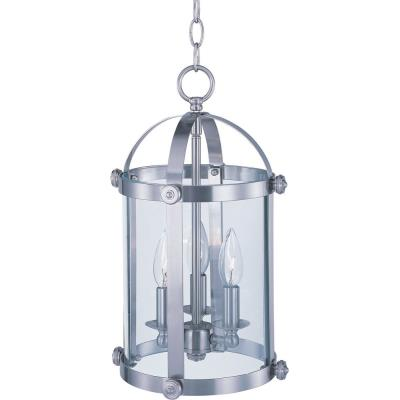 Maxim Lighting 21552CLSN Tara - Three Light Entry Foyer Pendant