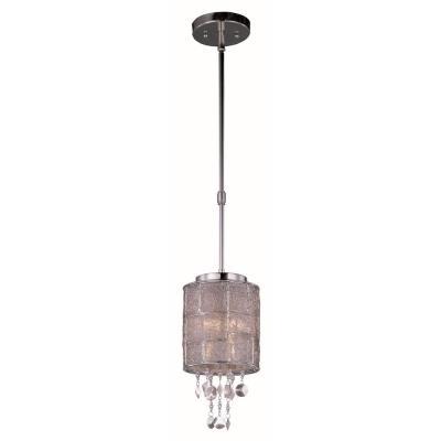 Maxim Lighting 21563TWPN Allure - One Light Mini Pendant