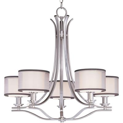 Maxim Lighting 23035SWSN Orion - Five Light Chandelier