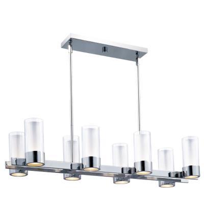 Maxim Lighting 23079CLFTPC Silo - Eight Light Pendant