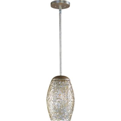 Maxim Lighting 24153BCGS Arabesque - One Light Mini Pendant