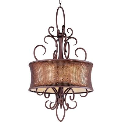 Maxim Lighting 24164SBUB Alexander - Five Light Pendant