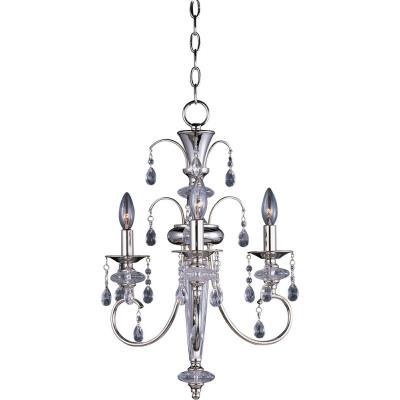 Maxim Lighting 24303CLPN Montgomery - Three Light Chandelier