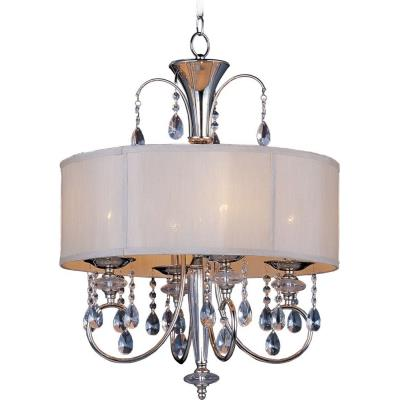 Maxim Lighting 24304CLBSPN Montgomery - Four Light Pendant