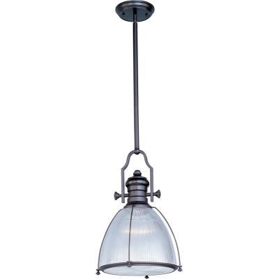 Maxim Lighting 25003CLBZ Hi-Bay - One Light Adjustable Pendant