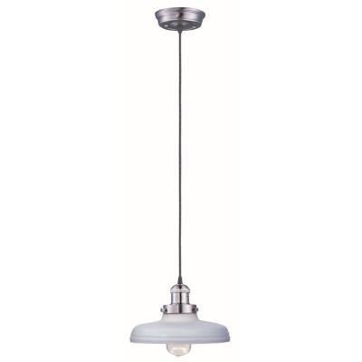 Maxim Lighting 25027SWSN Mini Hi-Bay - One Light Pendant