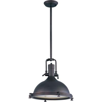 Maxim Lighting 25109FTBZ Hi-Bay - One Light Adjustable Pendant
